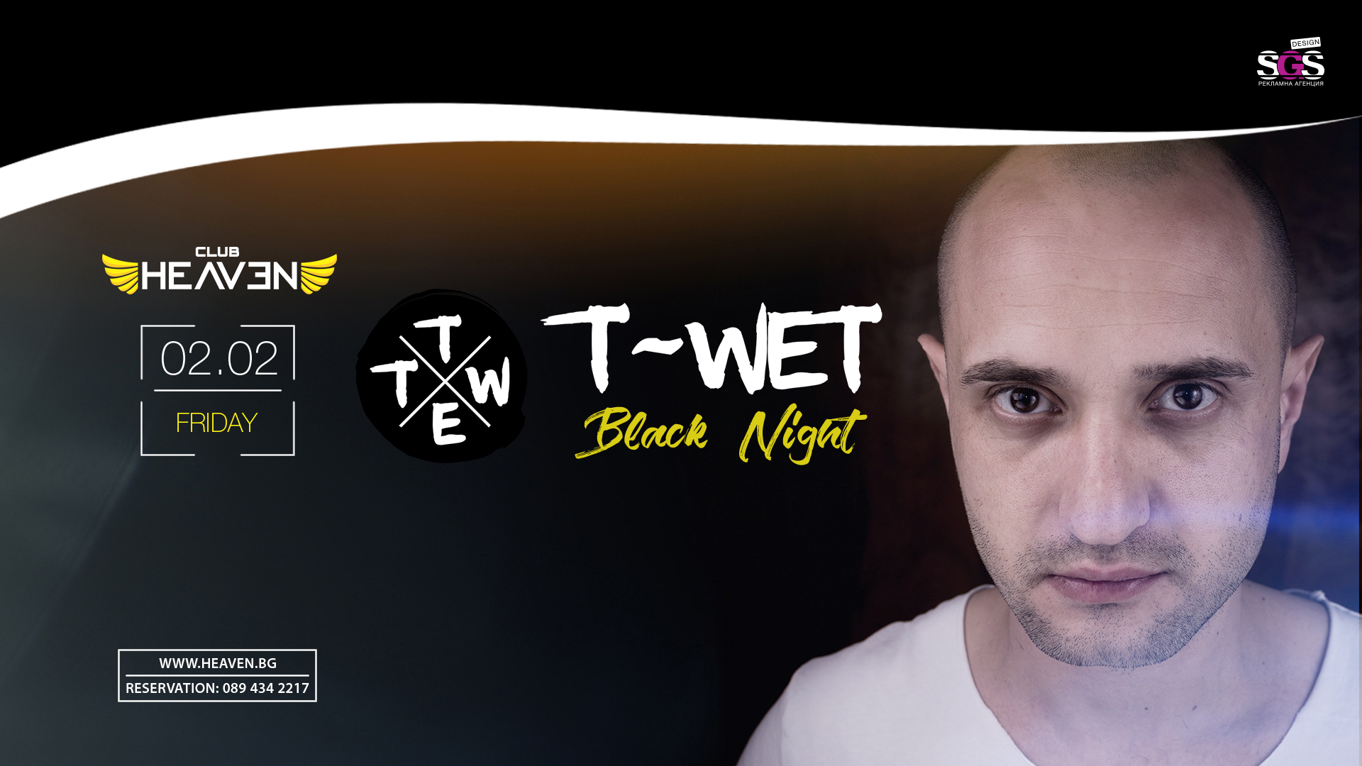 T-WET | BLACK NIGHT