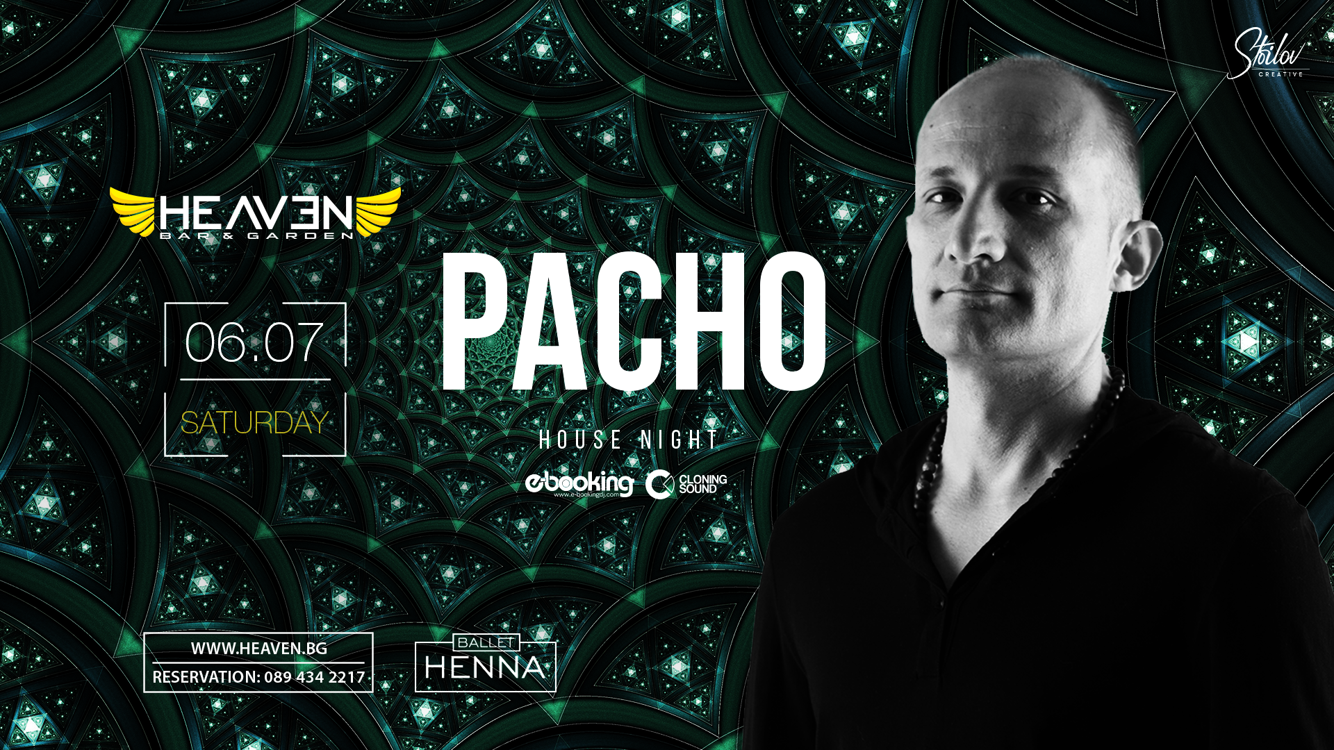 PACHO | HOUSE NIGHT