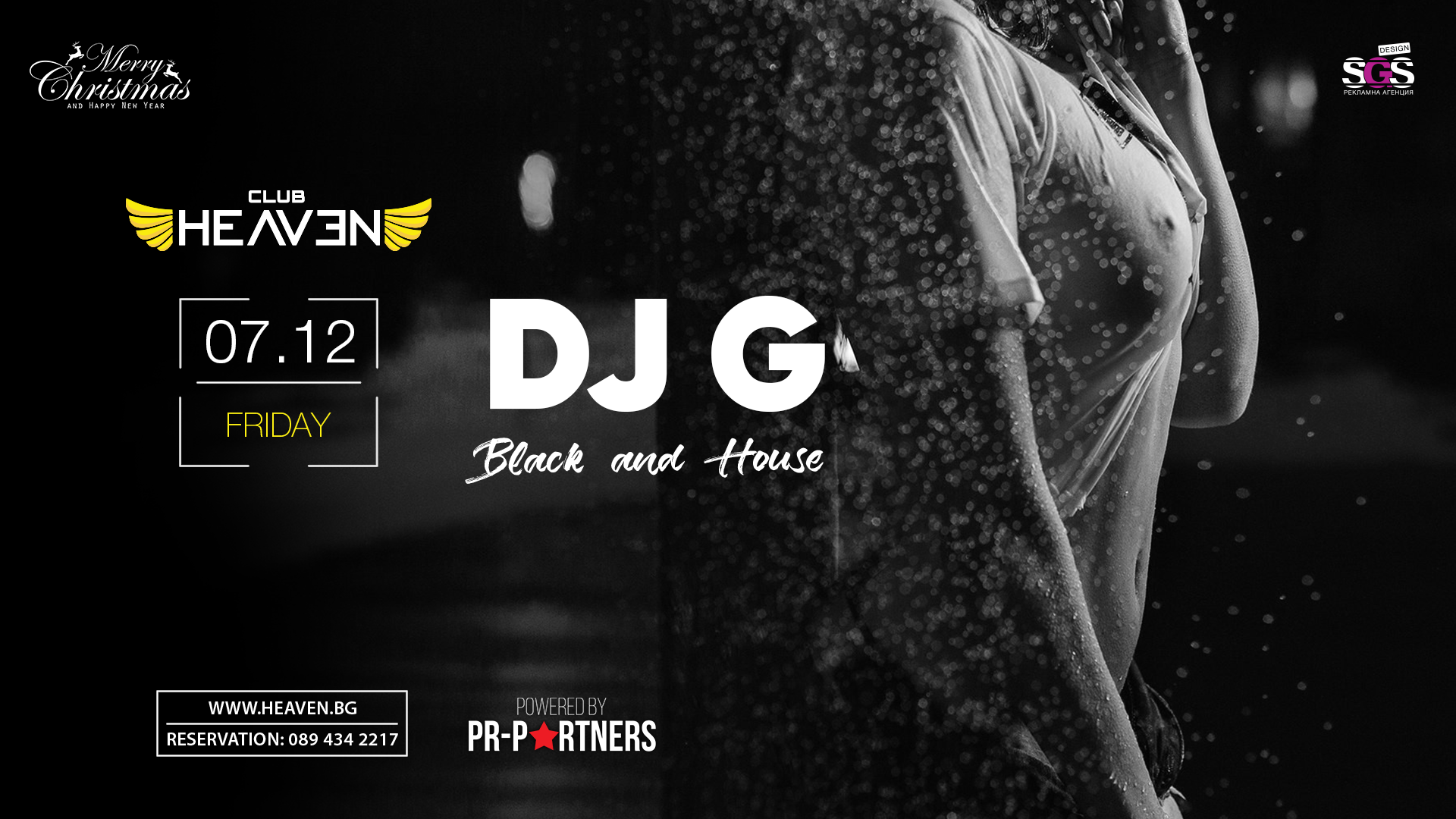 DJ G | BLACK & HOUSE NIGHT