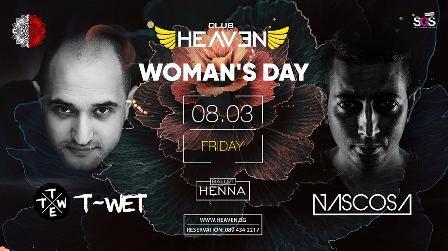 T-WET & NASCOSA | WOMAN'S DAY