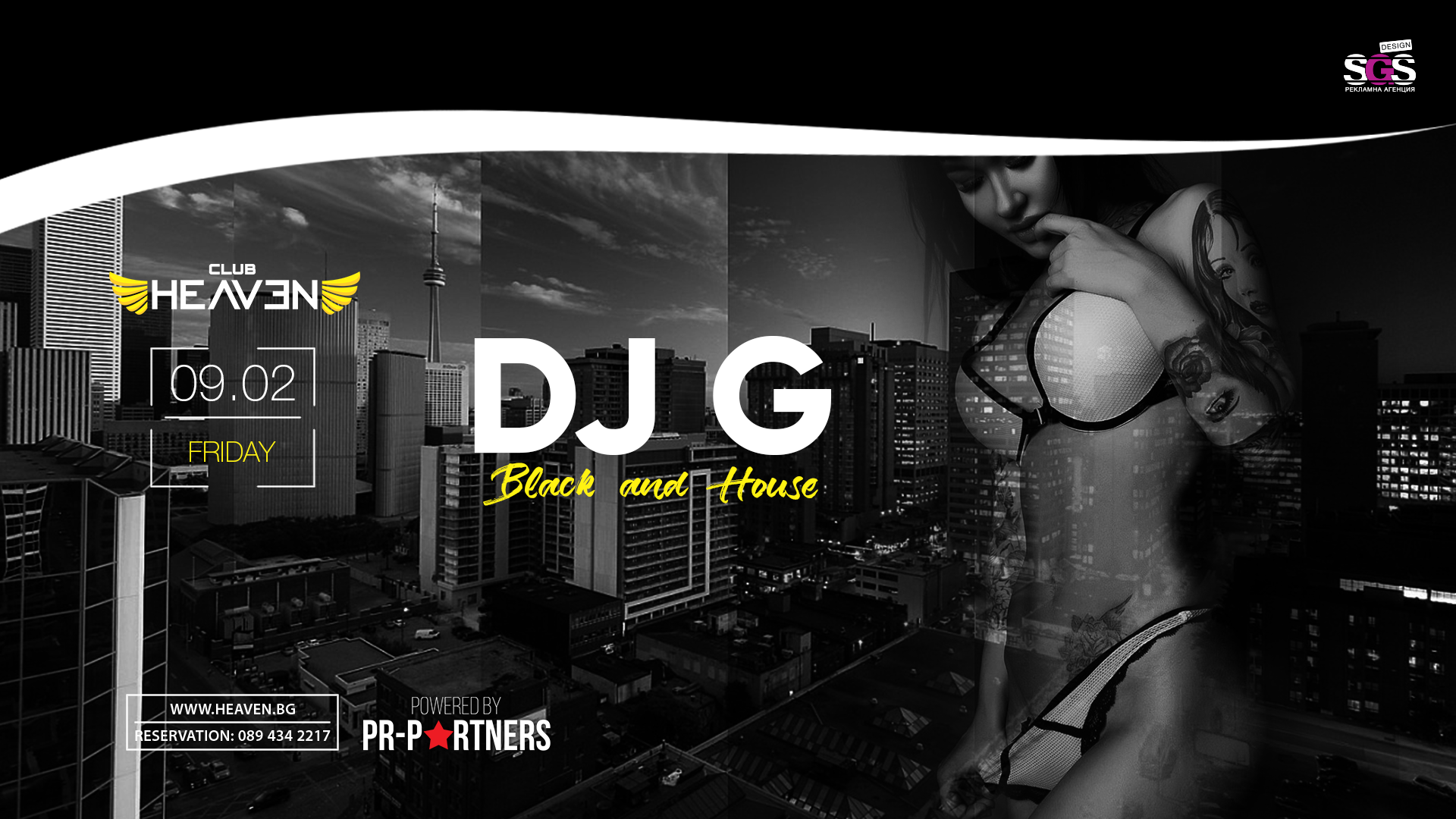 DJ G | BLACK & HOUSE