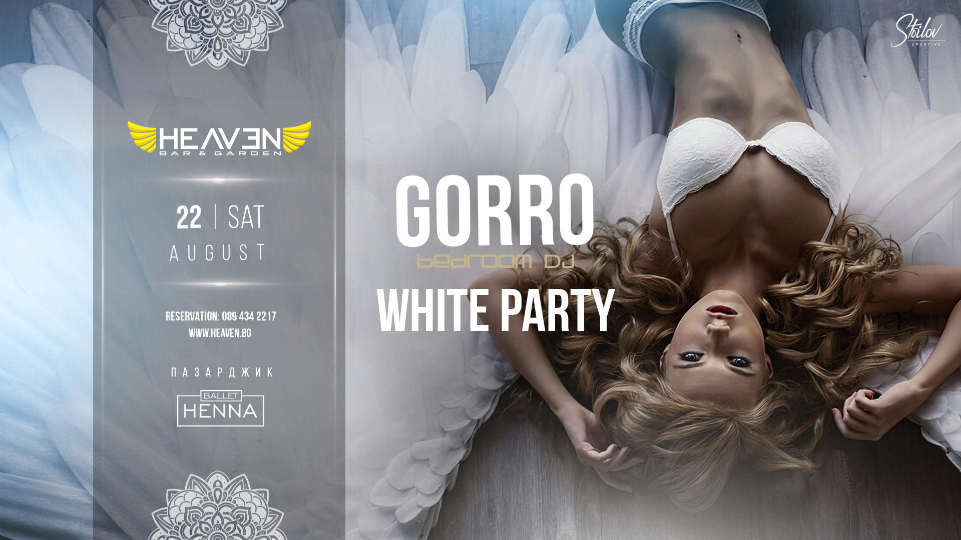 GORRO | WHITE PARTY